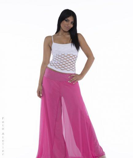 Bauchtanzhose Orient Inside Shimmy Pant Pink