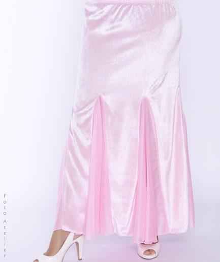 Bauchtanzrock orient inside Velvet Shimmy - rosa