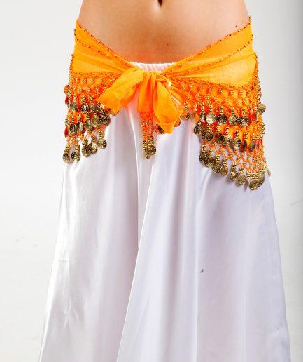 Hüfttuch Classic Chiffon - orangegold