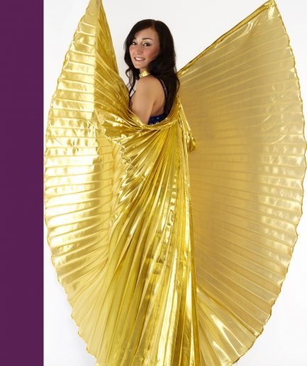 Isis Wings Orient Inside Osiris Gold
