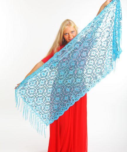 Orientalisches Tuch Nura Türkis