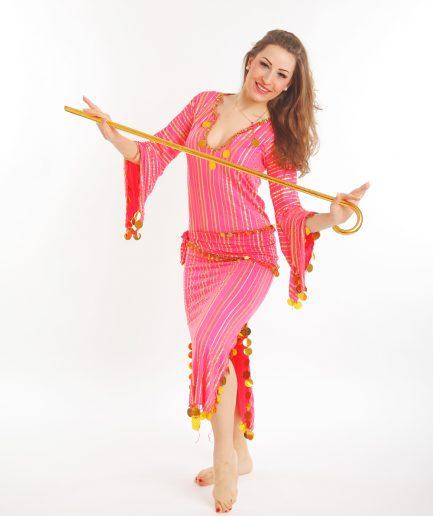 Baladikleid Saidi Orient Inside Pink