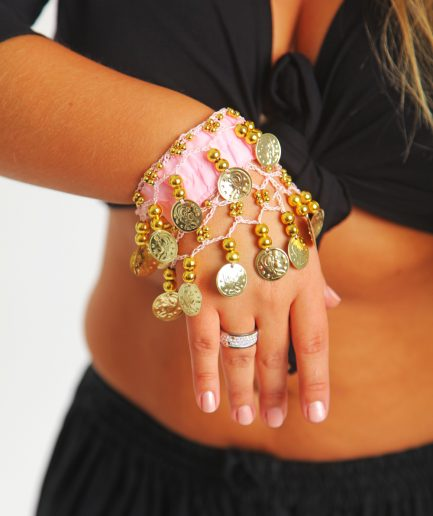 Kinder Armband Jingle Klimperlis Rosa Gold Orient Inside