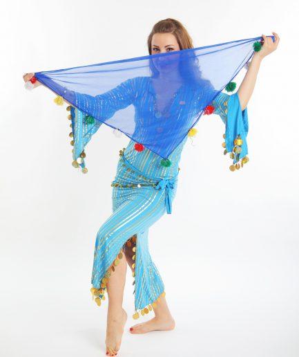 Mandhil bi Uya Blau Orient Inside
