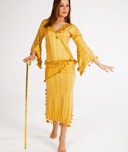 Baladikleid Saidi - Gr.36-40 - goldgold