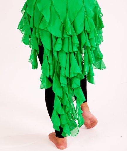 Hüfttuch Betty Burlesque - grün