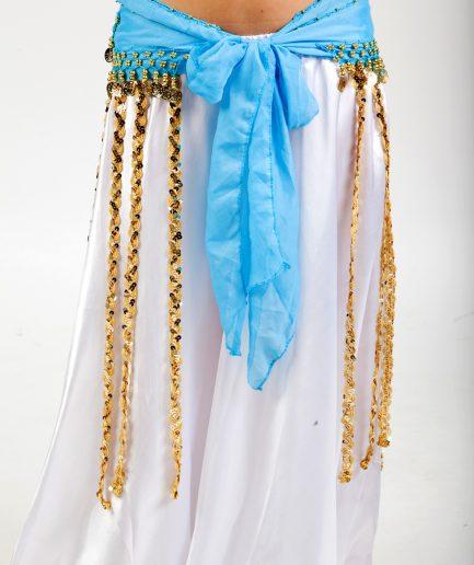 Hüfttuch Tribe - türkisgold