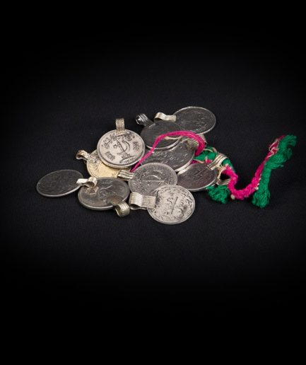 Tribal Münzen - lose - silber