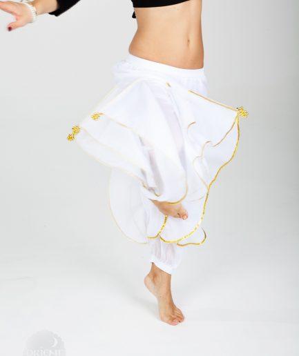 Bauchtanzhose Shalwar - XS-S - rosagold