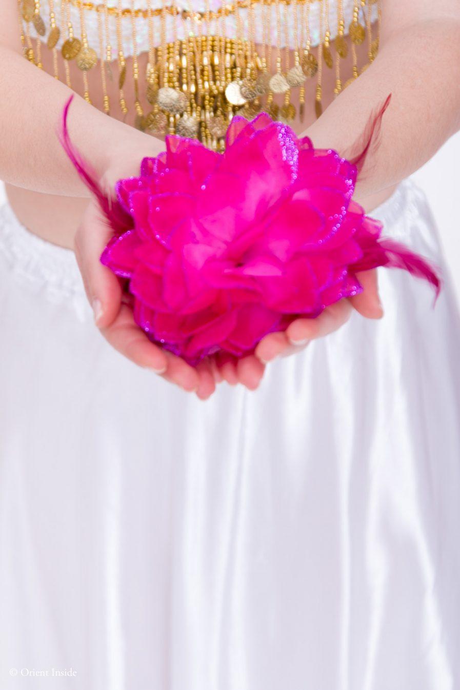 Blumen-Haarschmuck La Fleur - pink