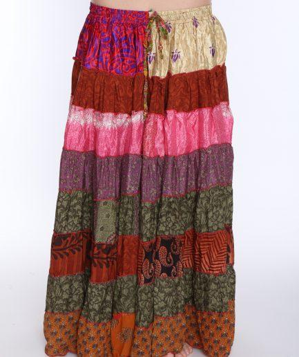 Gipsy Sari-Rock Lyuba - Gr.34-42 - pink/braun/bunt