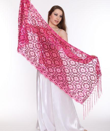 Orientalische Stola Hanami - pink
