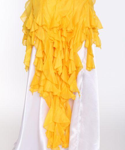 Hüfttuch Betty Burlesque - gelb