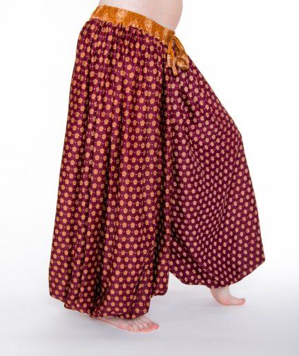 Pantaloon Jaipur - Onesize - Bordeaux/Zimt