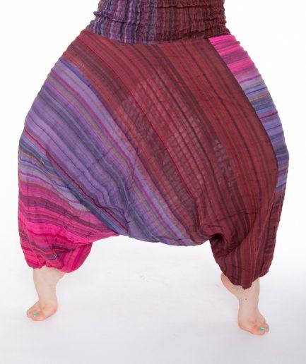Aladinhose Yasmin - Gr.34-42 - pink/braun