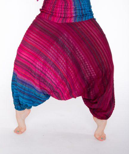 Aladinhose Yasmin - Gr.34-42 - pink/blau