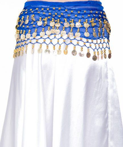 huefttuecher-mit-muenzen-classic-chiffon-dunkelblau-gold
