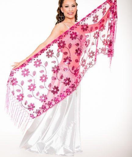 Orientalische Stola Florya - pink