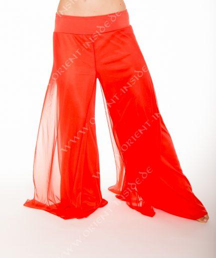 Bauchtanzhose Shimmy Pant - Gr.36-44 - orange