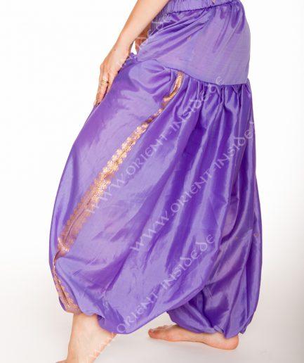Sari Pantaloon Indira - Onesize - flieder