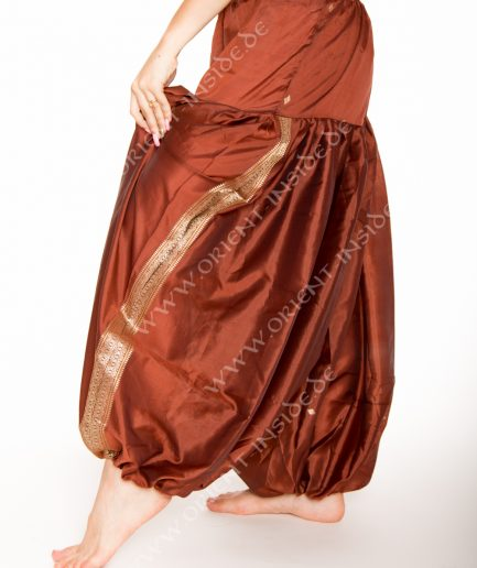 Sari Pantaloon Indira - Onesize - braun