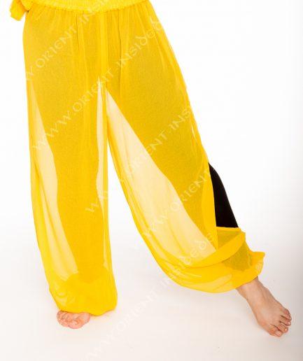 Bauchtanz Baladi Pumphose Pantaloon Shirin - Gr.34-42 - gelb