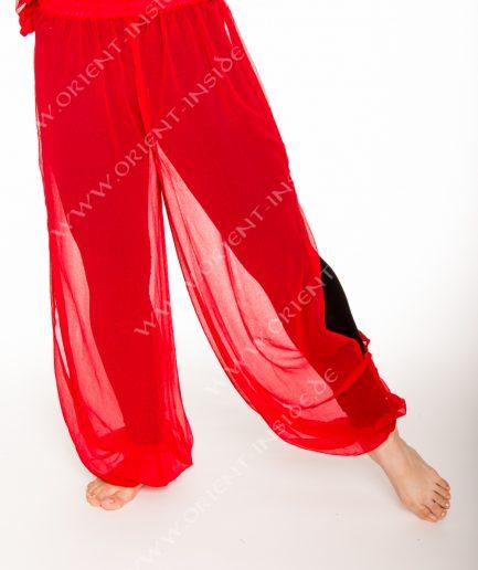 Bauchtanz Baladi Pumphose Pantaloon Shirin - Gr.34-42 - rot