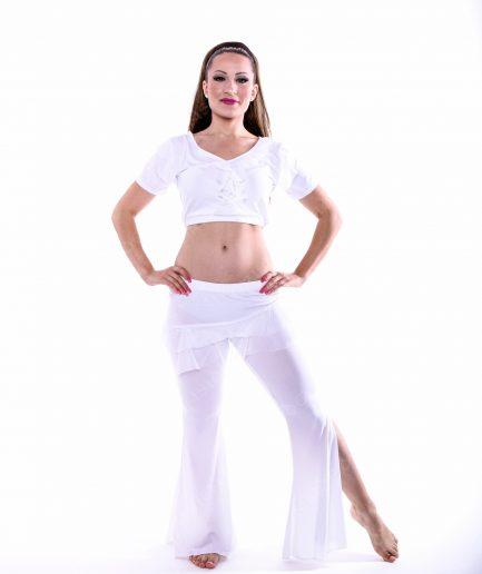 Trainingskostüm Azra - Gr.36-40 - weiß