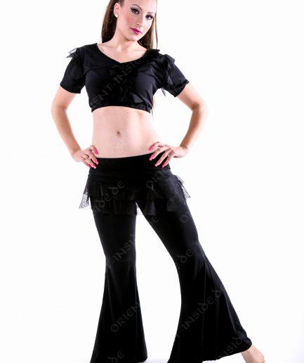 Trainingskostüm Azra - Gr.36-40 - schwarz
