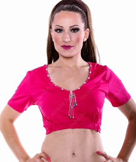 Bauchtanztop Choli Farida - Gr.34-38 - pink