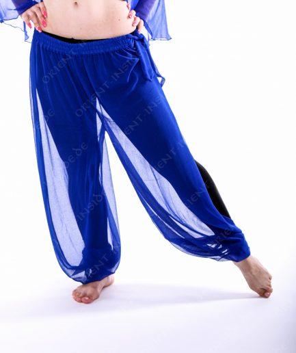 Bauchtanz Baladi Pumphose Pantaloon Shirin - Gr.34-42 - royalblau