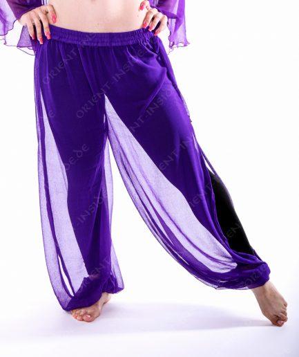 Bauchtanz Baladi Pumphose Pantaloon Shirin - Gr.34-42 - lila