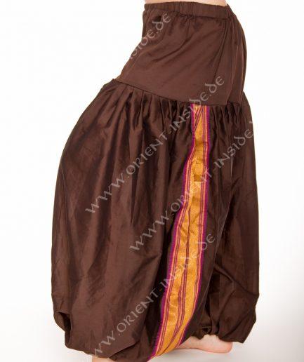 Sari Pantaloon Indira - Onesize - dunkelbraun