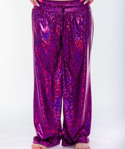Bauchtanz Bollywood Pumphose Sparkle - Gr.34-40 - pink
