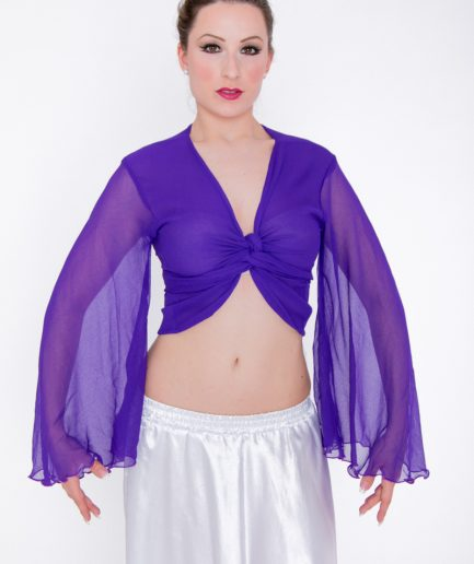 Bolero Twisted Wing - Gr.44-50 - lila
