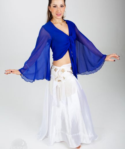 Bolero Twisted Wing - Gr.44-50 - royalblau