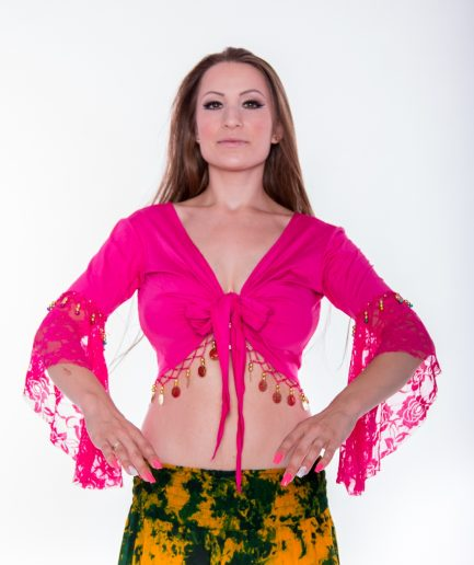 Bolero Twisted Melody - Gr.34-36 - pink