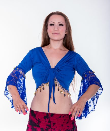 Bolero Twisted Melody - Gr.34-36 - royalblau
