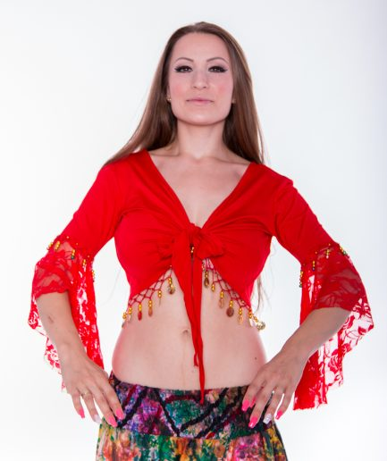 Bolero Twisted Melody - Gr.34-36 - rot