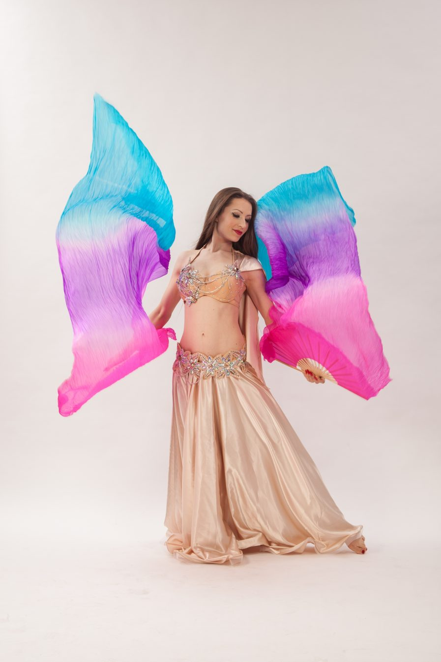 Belly Dance Costume Wüstenblume Zainab - Gr.34-38 - gold3