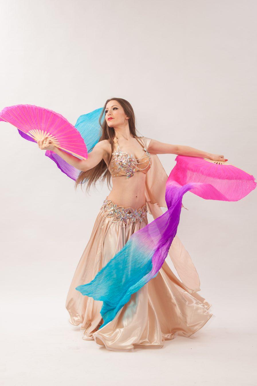 Belly Dance Costume Wüstenblume Zainab - Gr.34-38 - gold2