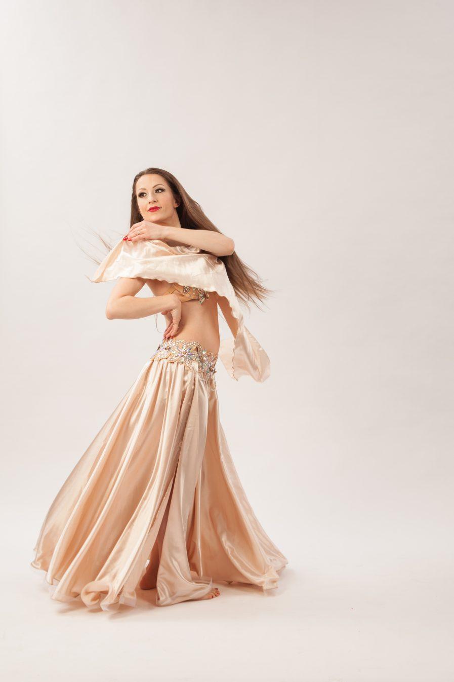 Belly Dance Costume Wüstenblume Zainab - Gr.34-38 - gold4