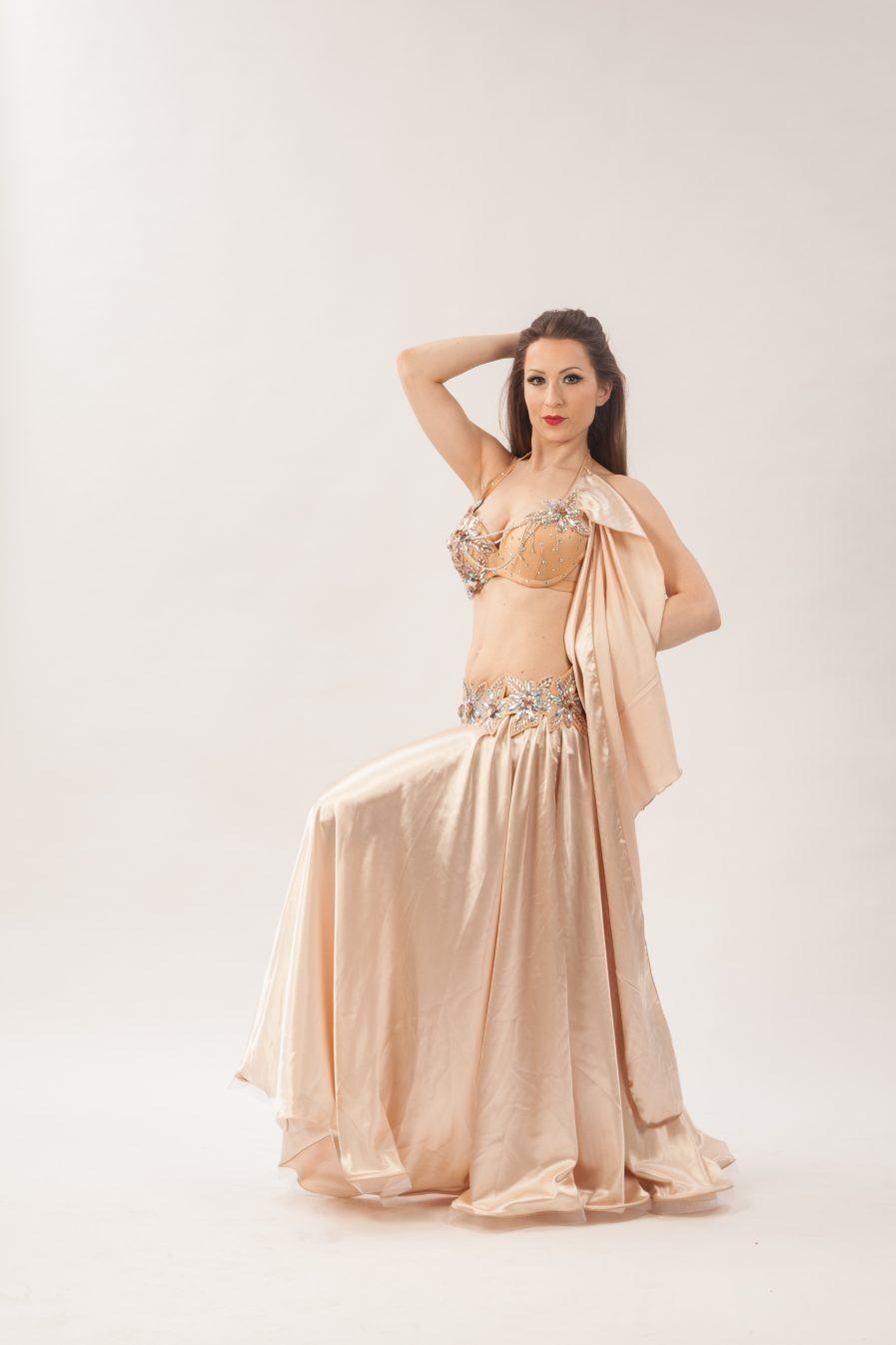Belly Dance Costume Wüstenblume Zainab - Gr.34-38 - gold